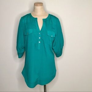 41 Hawthorn Stitch Fix Filbert ¾ sleeve blouse